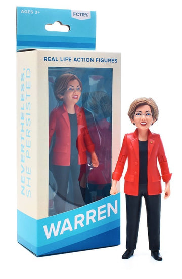 Real Life Action Figures Elizabeth Warren