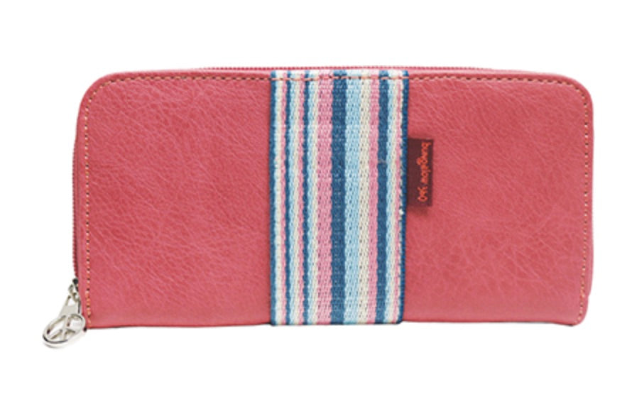 Rose Zip Wallet
