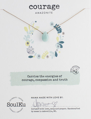 Soul Full Necklace - Courage