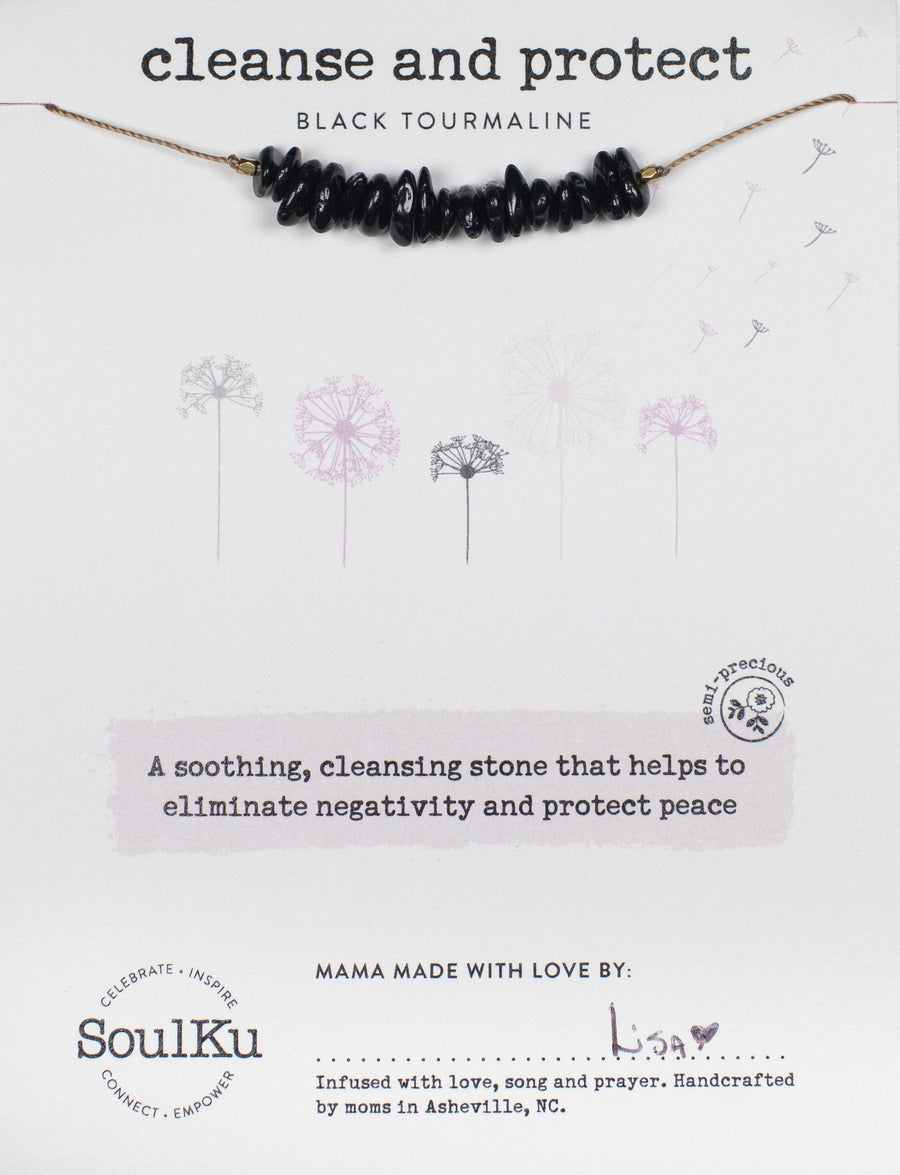 Seed Necklace - Cleanse and Protect