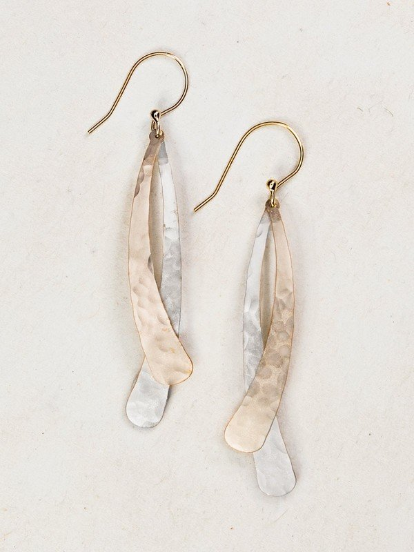 Gold and Silver Sonja Earrings