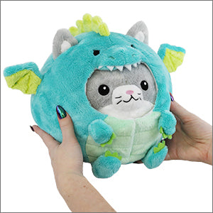 Undercover Kitty Dragon Squishable