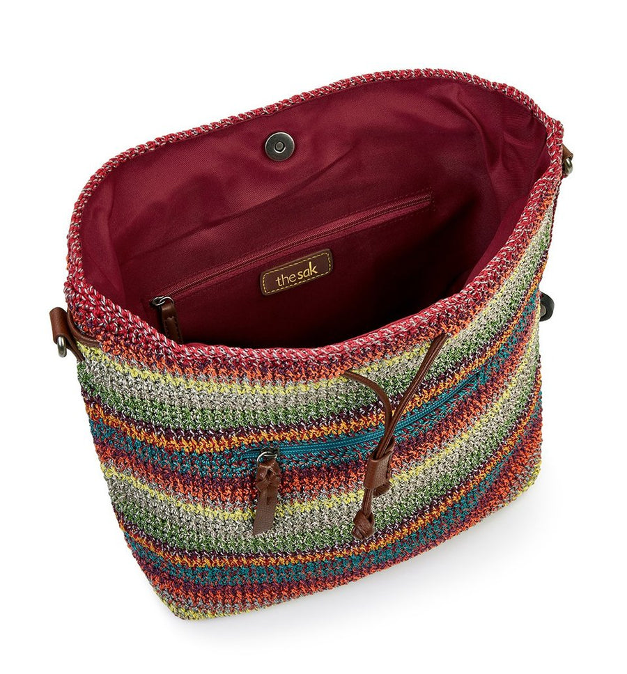 Avalon Crochet Convertible Backpack