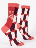 This Meeting is Bullsh*t Women's Crew Socks