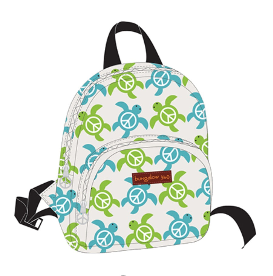 Sea Turtle Kids Back Pack