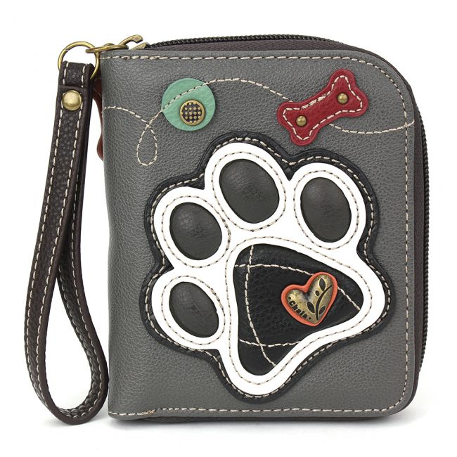 Wallet - Gray Paw