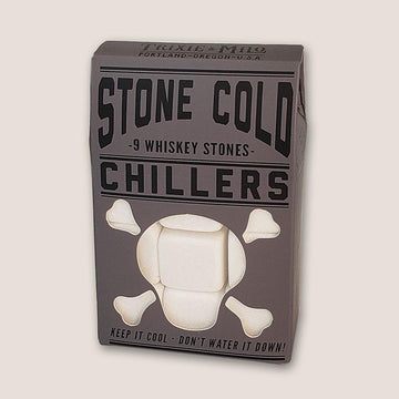 White Marble Whiskey Stones