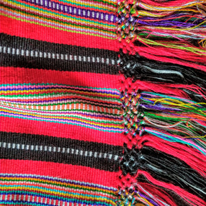 Large Typical Cotzal Shawl/Throw