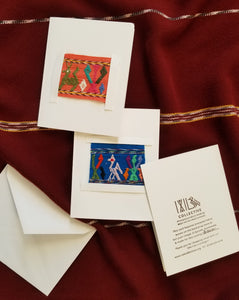Textile Cards (Set of 4)