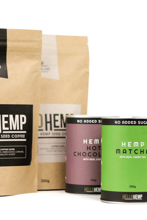 LOW-GI HEMP PROTEIN LATTE | 250g