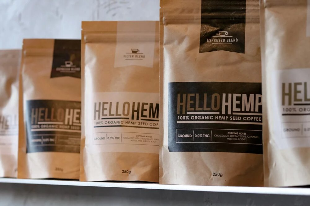 HEMP PROTEIN COFFEE | ESPRESSO BLEND | 250g