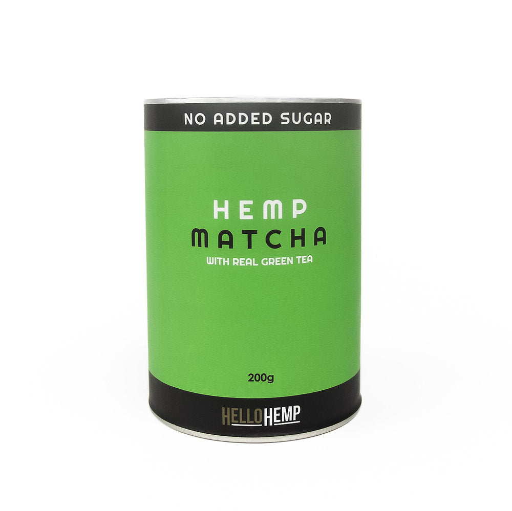 LOW-GI HEMP PROTEIN MATCHA | 200g