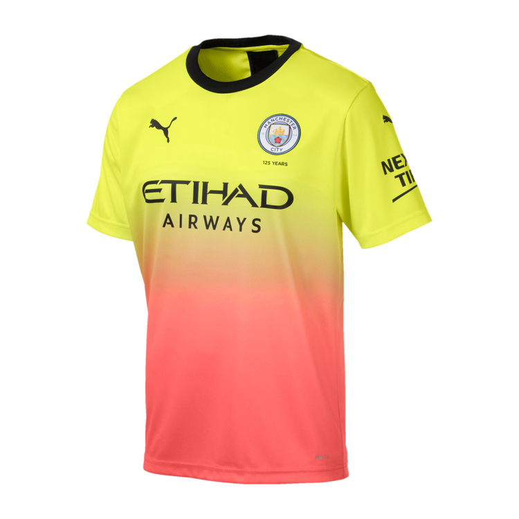 MANCHESTER CITY 2019-2020 MAILLOT