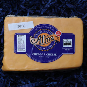2014 Sharp Cheddar Cheese - 1 lb - Alma Cheese