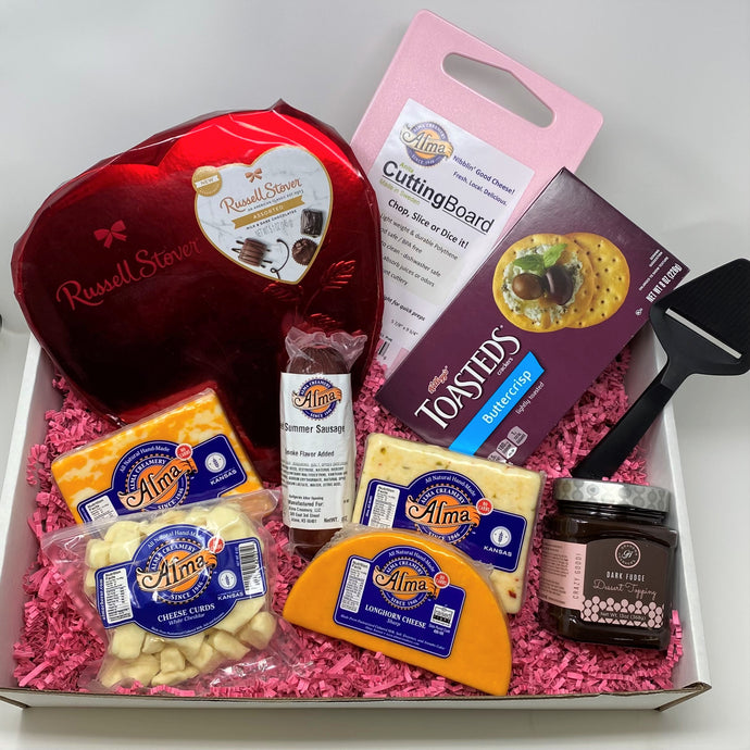 Valentine's Day Box (Ships February 8th) - Alma Cheese