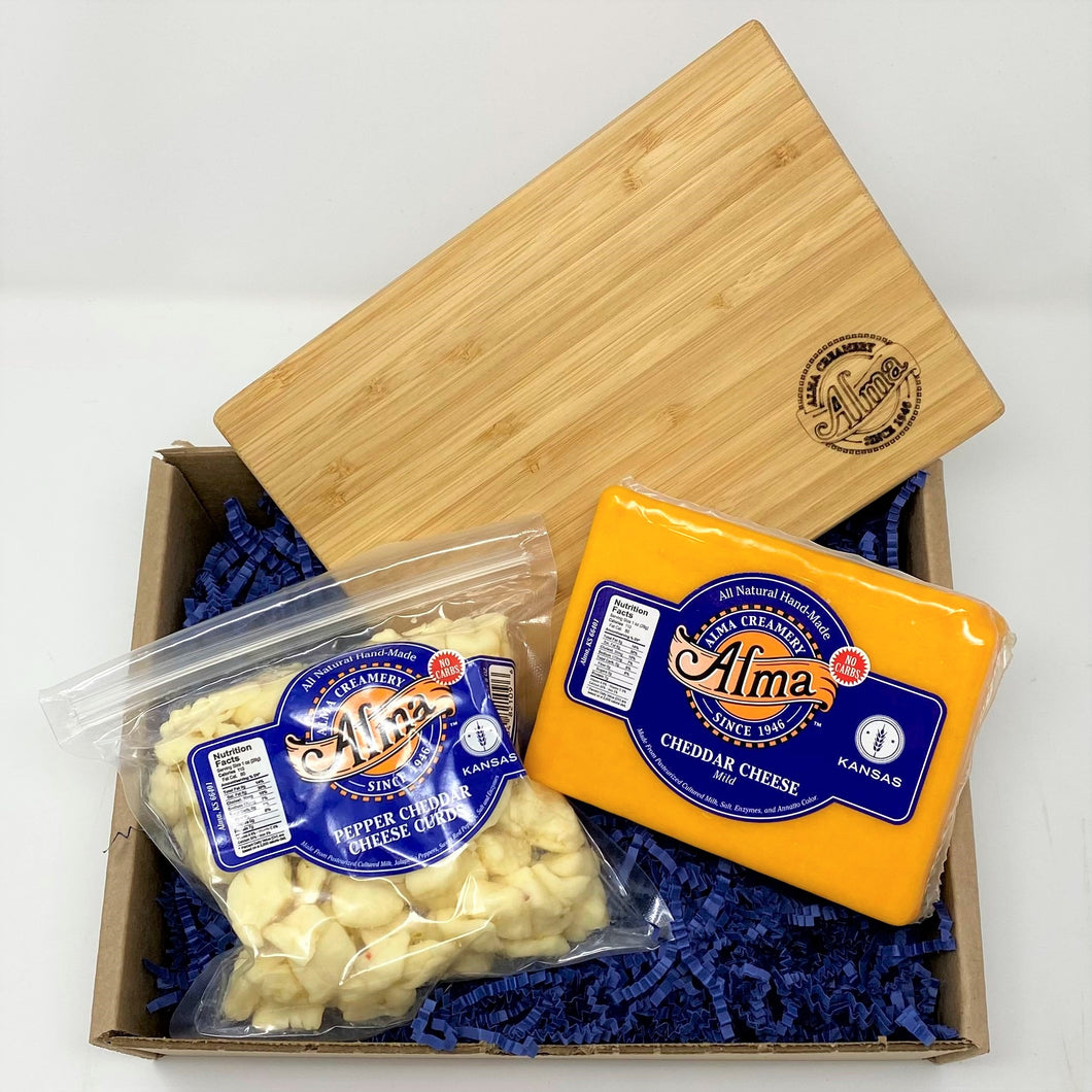 Cutting Board Box - Alma Cheese