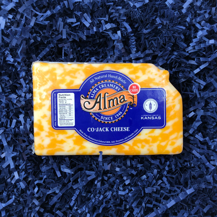 Kansas Cut Co-Jack Cheese - 1 lb - Alma Creamery
