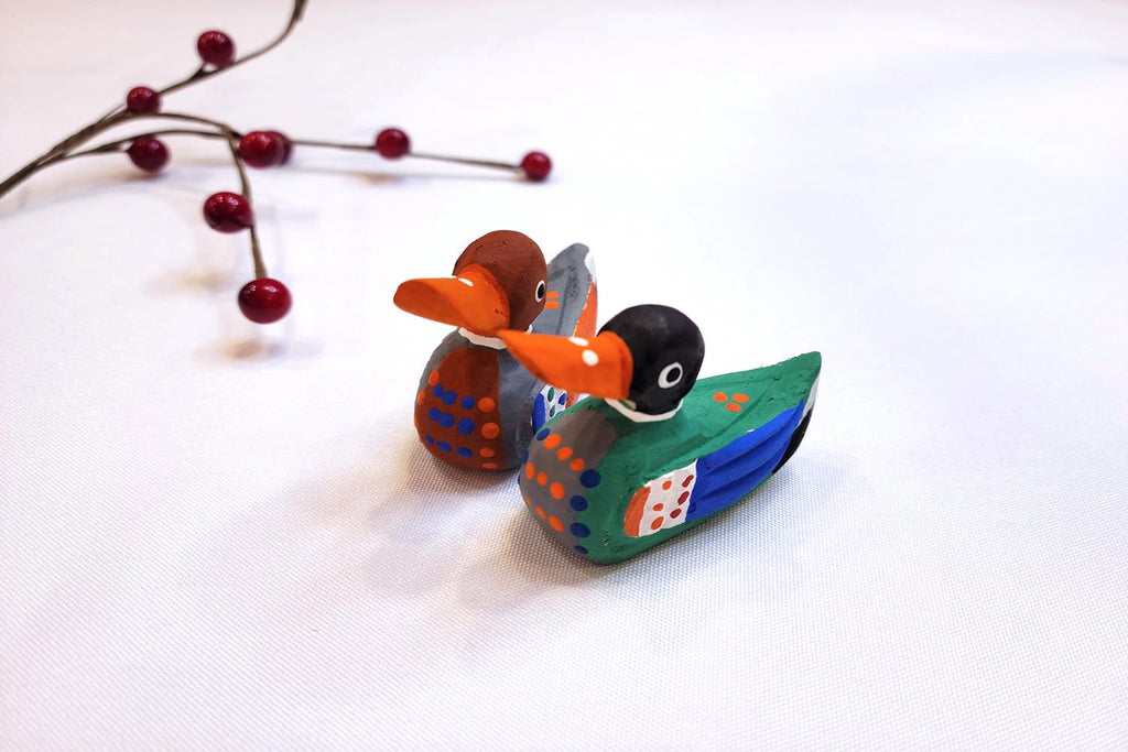 Korean Tradition: Wooden Wedding Ducks