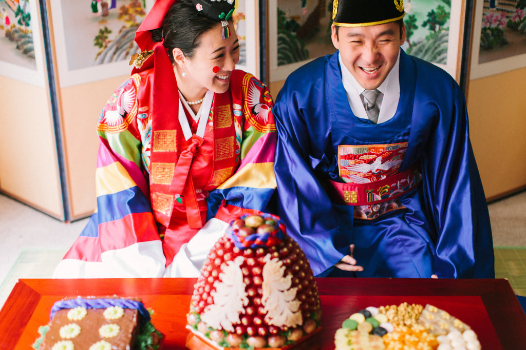 The Paebaek Tea Ceremony