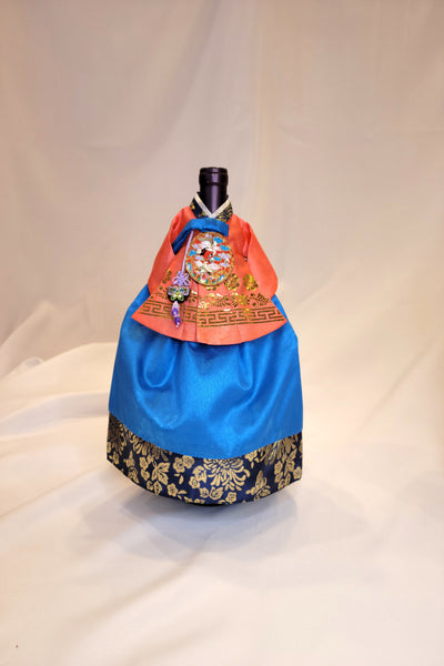 Hanbok Wine Cover (Girl)