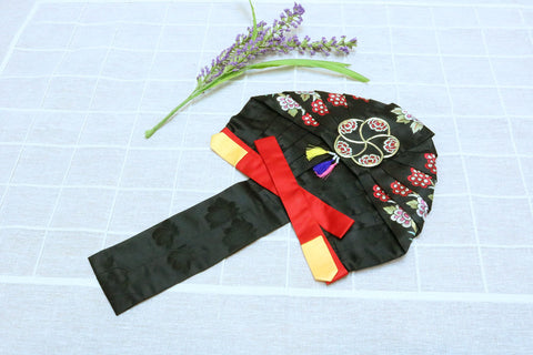 Korean Traditional Headgear(Gullae)-H1013 - LEEHWA WEDDING