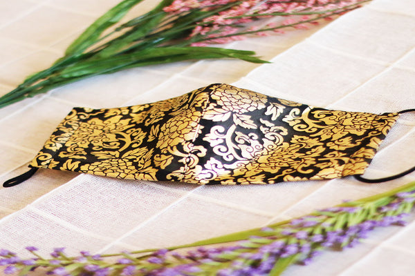Black Gold Mask - LEEHWA WEDDING
