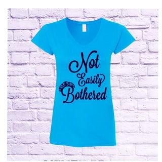 Women's Cut V-Neck  Fitted T-Shirt