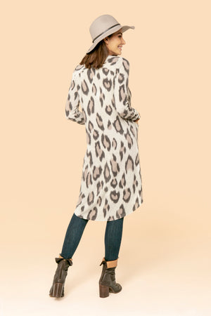 Cow Print Duster STYLE: JP16CP