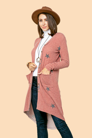 Wine Small Star Duster STYLE: P16ST2