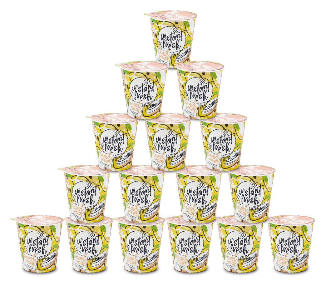 Vorratspack! 16x instant fresh® Heart Meal 350 ml 16 Cups Total!