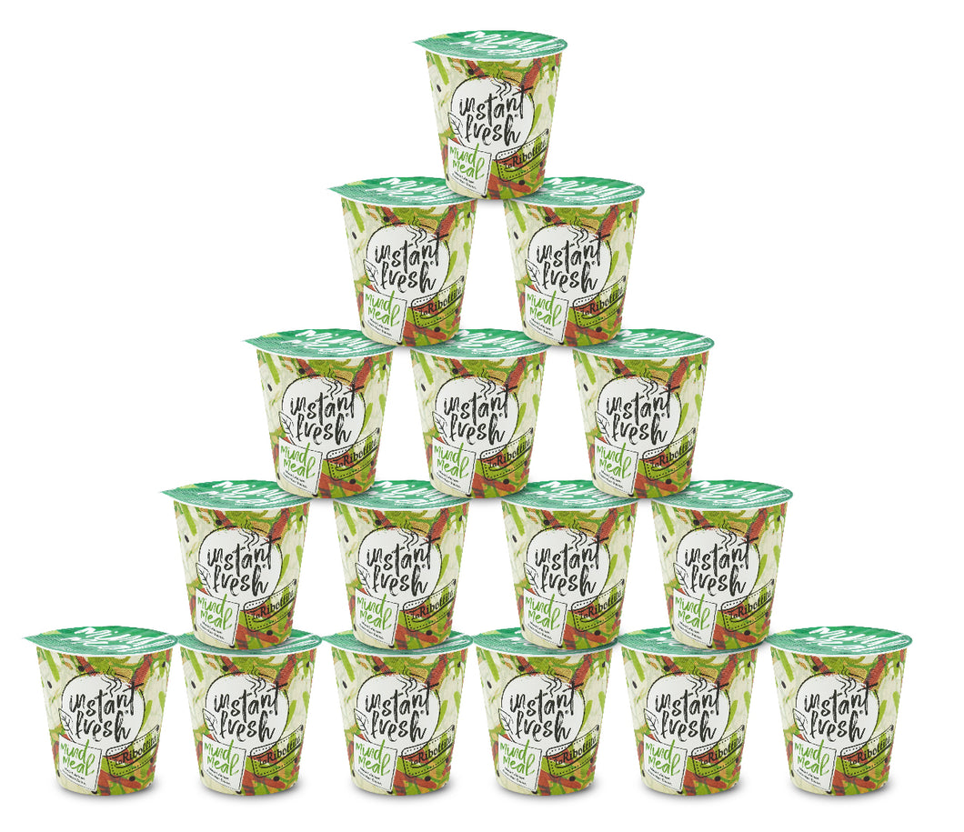 Vorratspack! 16x instant fresh® Mind Meal 350 ml 16 Cups Total!