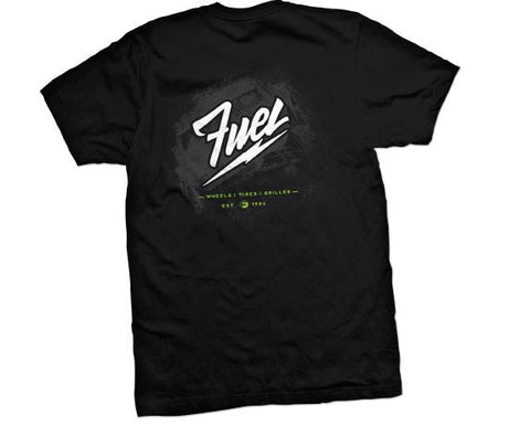 "Fuel Off Road ""Lightning"" T-shirt F010"