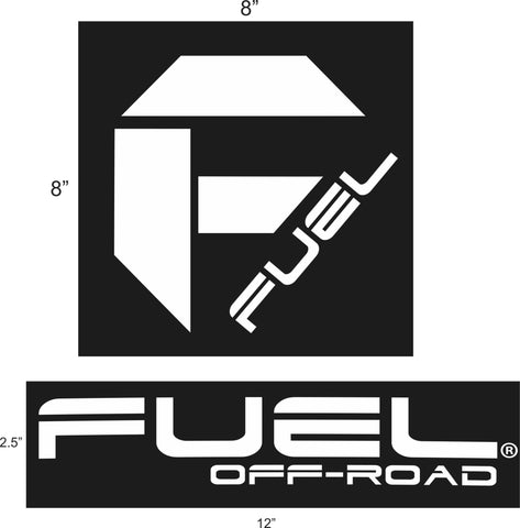 Fuel Off Road Decal Pack F500, One Free per order