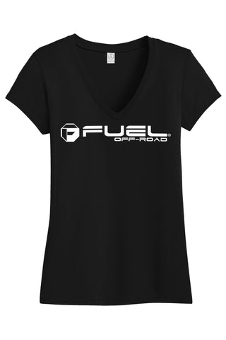"Fuel Off Road ""Logo"" Ladies T-shirt FL008"