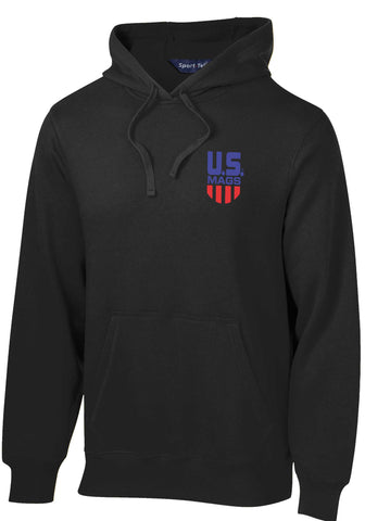 US Mags Embroidered Pullover Hooded Sweatshirt UH042