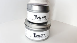 Bacon Scented Natural Soy Candle | Hand-Poured and Hand-Crafted - Hip and Trendy Home Decor & More