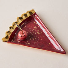 Load image into Gallery viewer, Nordic Ceramic Watermelon Apple Small Jewelry Dish Earrings Necklace Ring Storage Plates Fruit Dessert Display Bowl Decoration - Hip and Trendy