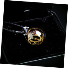 Load image into Gallery viewer, Nebula Galaxy Double Sided Pendant Necklace Glass Art Picture Handmade Statement Universe Planet Jewelry Necklace for Women - Hip and Trendy Home Decor & More