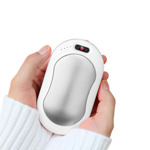 Electric Hand Warmer Pocket Mini Rechargable USB Handwarmer with Screen Flashlight LED Indicator Reusable Handy Heater for Hands - Hip and Trendy Home Decor & More