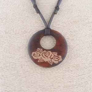 Vintage New Handmade Fashion Collar Vintage Long PU Leathe Wood Pendants Necklaces for Women Men Jewelry Accessory - Hip and Trendy Home Decor & More