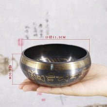 Load image into Gallery viewer, SDR Tibetan Bowl Singing Bowl Decorative-wall-dishes Home Decoration Decorative Wall Dishes Tibetan Singing Bowl - Hip and Trendy Home Decor & More