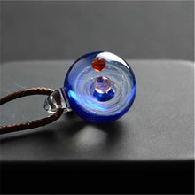 Load image into Gallery viewer, New arrival Handmade Glass Nebula Cosmic Galaxy Pendant Necklace Lucky Men Women Couple Jewelry Valentine's Day Present Gift - Hip and Trendy Home Decor & More