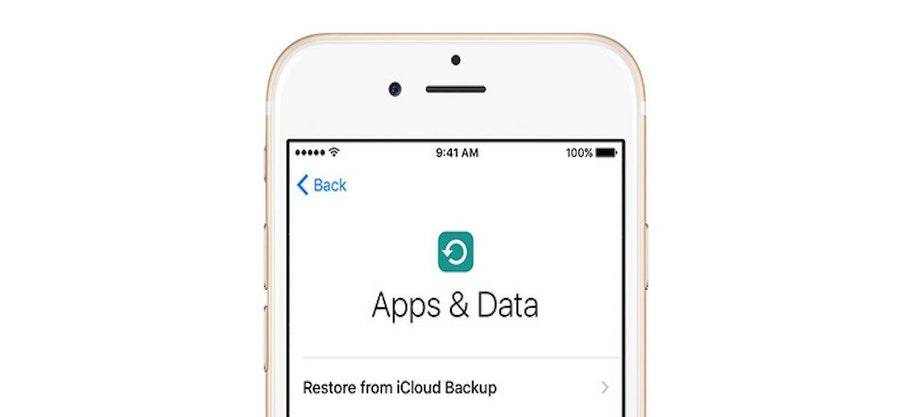 Restoring Your iPhone Through iCloud Backup