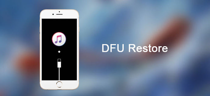 How To Do A DFU Restore