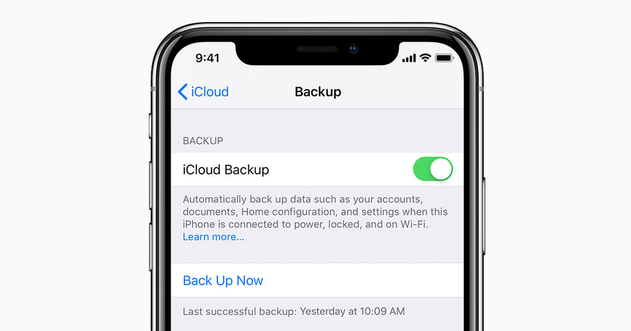 How to back up your iPhone with iCloud