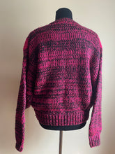 Load image into Gallery viewer, 80's Fuschia Sweater (Sml)