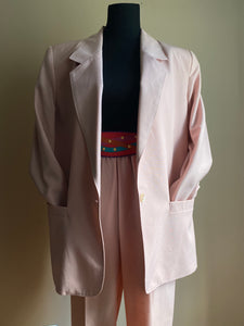 Soft Pink Pants Suit (Med)