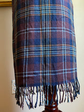 Load image into Gallery viewer, Fringe Hem Plaid Skirt (Sml)