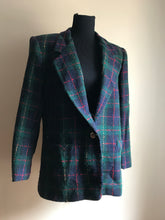 Load image into Gallery viewer, School Girl Plaid Blazer (Sml/Med)