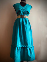 Load image into Gallery viewer, Teal Maxi Dress (Plus Size)